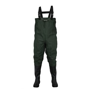 Oxbow - Poly Rubber Cleated Btft Chest WadersForest Green11
